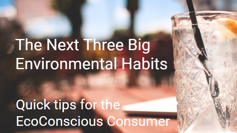 The Next Three Big Environmental Habits