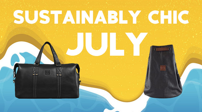Sustainably Chic July: Surf, Sand, and Sustainability