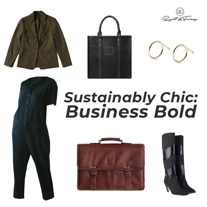 Sustainably Chic: Business Bold