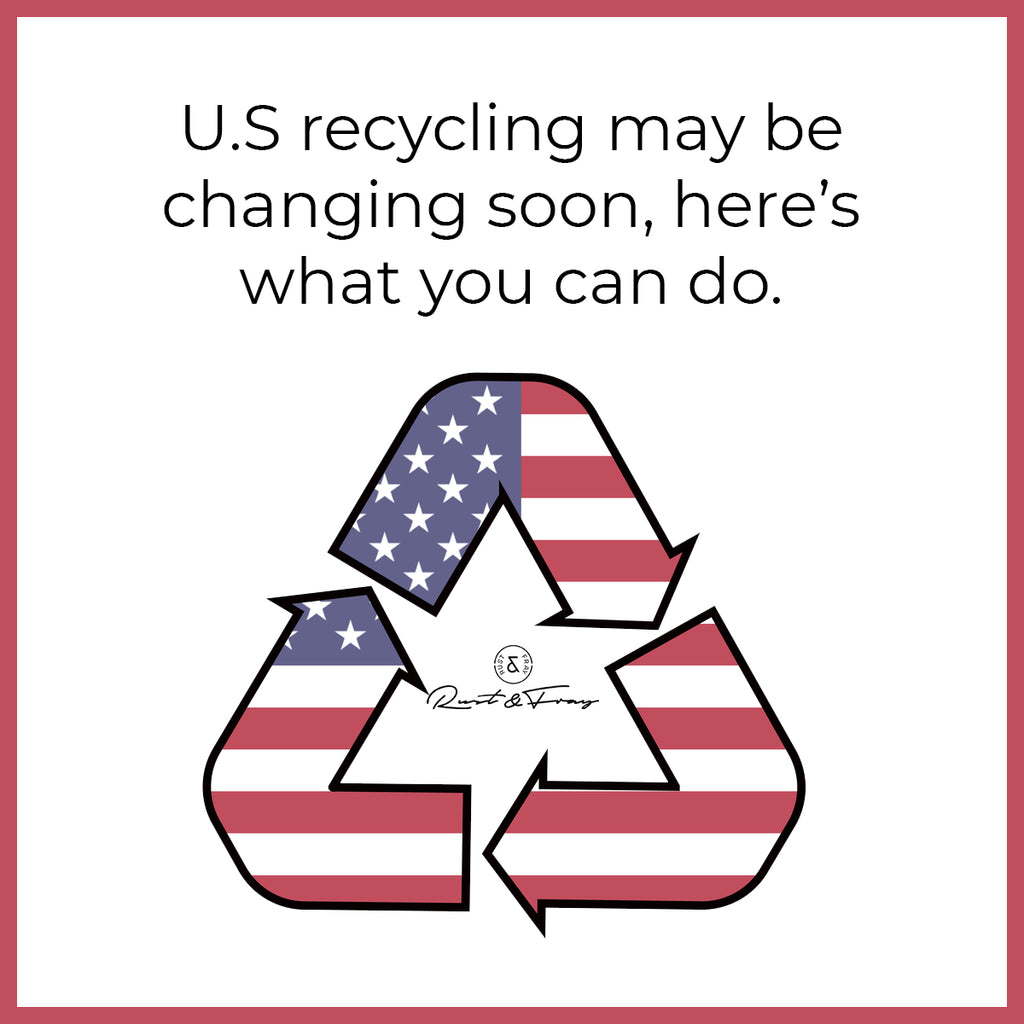 US recycling may be changing soon, here's what you can do