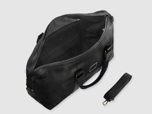Load image into Gallery viewer, Ardent - Black Leather Duffel - Bag - Rust & Fray