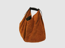 Load image into Gallery viewer, Boho - Cognac Suede - Bag - Rust & Fray