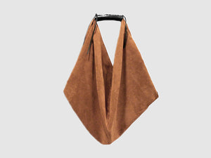 Boho - Tan Suede - Bag - Rust & Fray