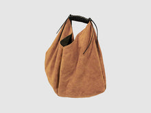 Load image into Gallery viewer, Boho - Tan Suede - Bag - Rust & Fray