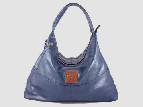 Vogue - Midnight Vegan Leather Hobo - Bag - Rust & Fray