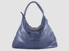 Load image into Gallery viewer, Vogue - Midnight Vegan Leather Hobo - Bag - Rust & Fray