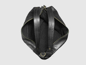 Vogue - Black Vegan Leather Hobo