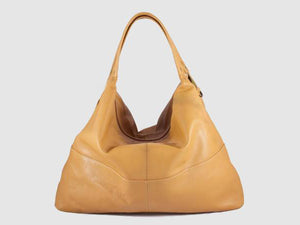 Vogue - Mustard Vegan Leather Hobo - Bag - Rust & Fray