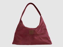 Load image into Gallery viewer, Vogue - Red Vegan Leather Hobo - Bag - Rust & Fray
