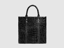 Load image into Gallery viewer, Michelle - Alligator Vegan Leather - Bag - Rust & Fray