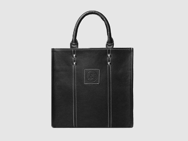 Michelle - Black Vegan Leather - Bag - Rust & Fray