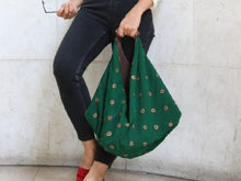 Load image into Gallery viewer, Story - Boho Emerald - Bag - Rust & Fray