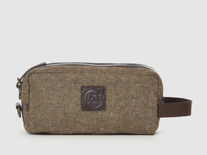 Adonis - Brown Tweed Travel Bag - Bag - Rust & Fray
