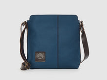 Load image into Gallery viewer, Latitude - Azure Gabardine Messenger Bag - Bag - Rust & Fray
