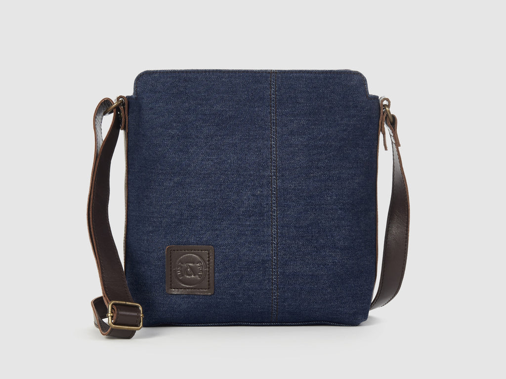 Latitude BD - Blue Denim Messenger Bag - Bag - Rust & Fray