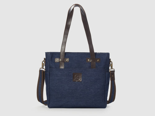 Urbanite BD - Blue Denim Crossbody - Bag - Rust & Fray