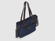Load image into Gallery viewer, Urbanite BD - Blue Denim Crossbody - Bag - Rust & Fray