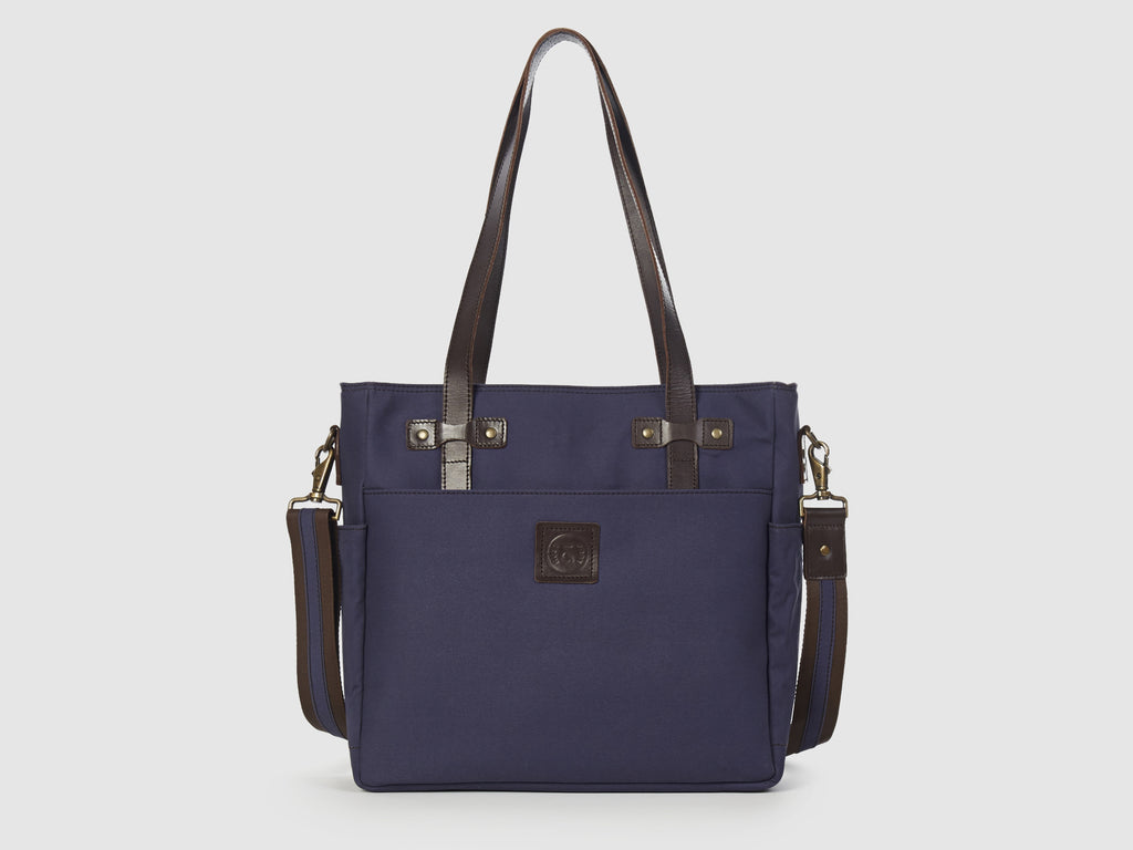 Urbanite BG - Blue Gabardine Shoulder Bag - Bag - Rust & Fray
