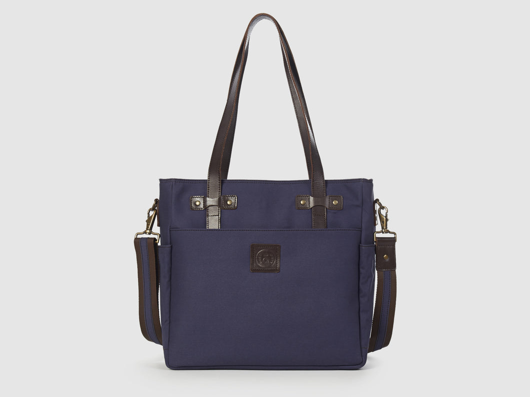 Urbanite BG - Blue Gabardine Crossbody - Bag - Rust & Fray