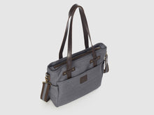 Load image into Gallery viewer, Urbanite GD - Gray Denim Crossbody - Bag - Rust & Fray