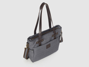 Urbanite GD - Gray Denim Crossbody - Bag - Rust & Fray