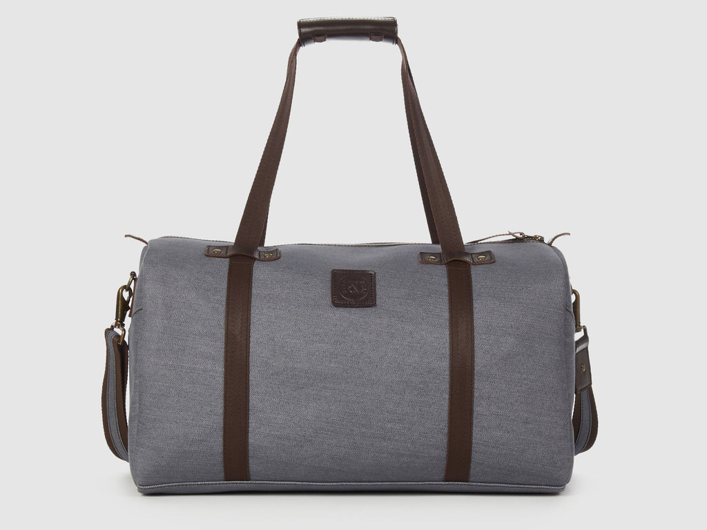 Nomad GD - Gray Denim Duffel Bag - Bag - Rust & Fray