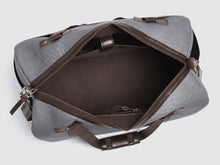 Load image into Gallery viewer, Nomad GD - Gray Denim Duffel Bag - Bag - Rust & Fray