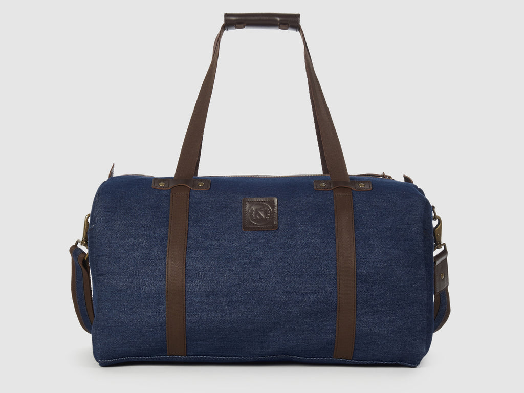 Nomad BD - Blue Denim Duffel Bag - Bag - Rust & Fray