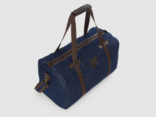 Load image into Gallery viewer, Nomad BD - Blue Denim Duffel Bag - Bag - Rust & Fray