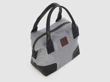 Load image into Gallery viewer, Caprice CC - Checkered Cotton Tote Bag - Bag - Rust & Fray