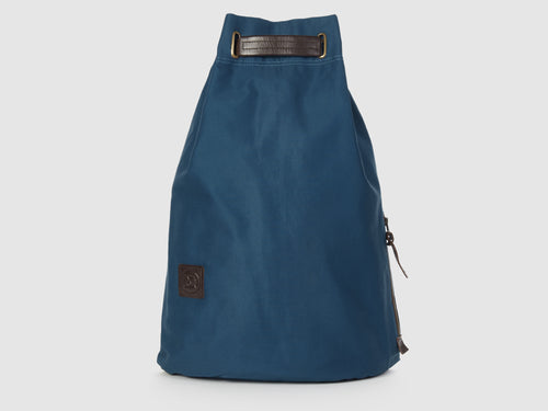 Serenity AG - Azure Gabardine Backpack - Bag - Rust & Fray