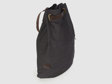 Load image into Gallery viewer, Serenity KD - Black Denim Backpack - Bag - Rust & Fray