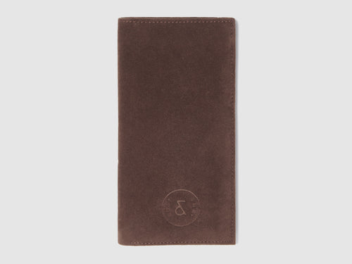 Stint - Brown Vegan Suede Wallet - Bag - Rust & Fray