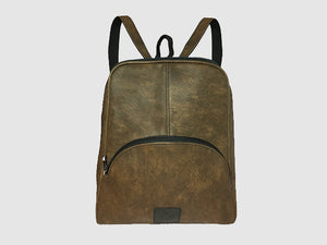 Rave - Chestnut Brown Vegan Leather - Bag - Rust & Fray