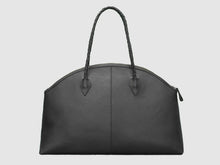 Load image into Gallery viewer, Frida - Black Leather Large Tote - Bag - Rust & Fray
