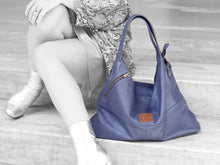 Load image into Gallery viewer, Vogue - Midnight Leather Hobo - Bag - Rust & Fray