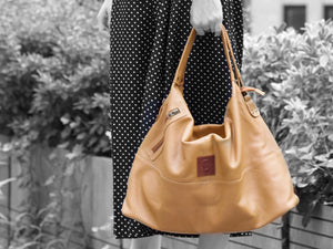 Vogue - Mustard Leather Hobo - Bag - Rust & Fray