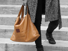 Load image into Gallery viewer, Vogue - Mustard Vegan Leather Hobo - Bag - Rust & Fray