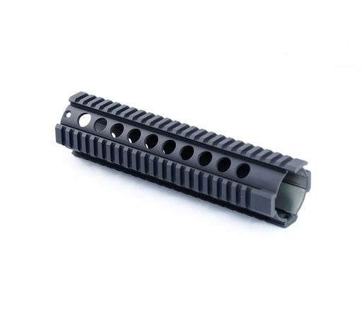 10 Free Float Quad Rail - Graphite Black Cerakote Handguard Ar15Discounts