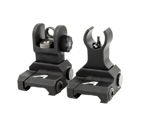 Aero Precision Ar-15 Flip-Up Sight Set - Anodized Black Sights Ar15Discounts