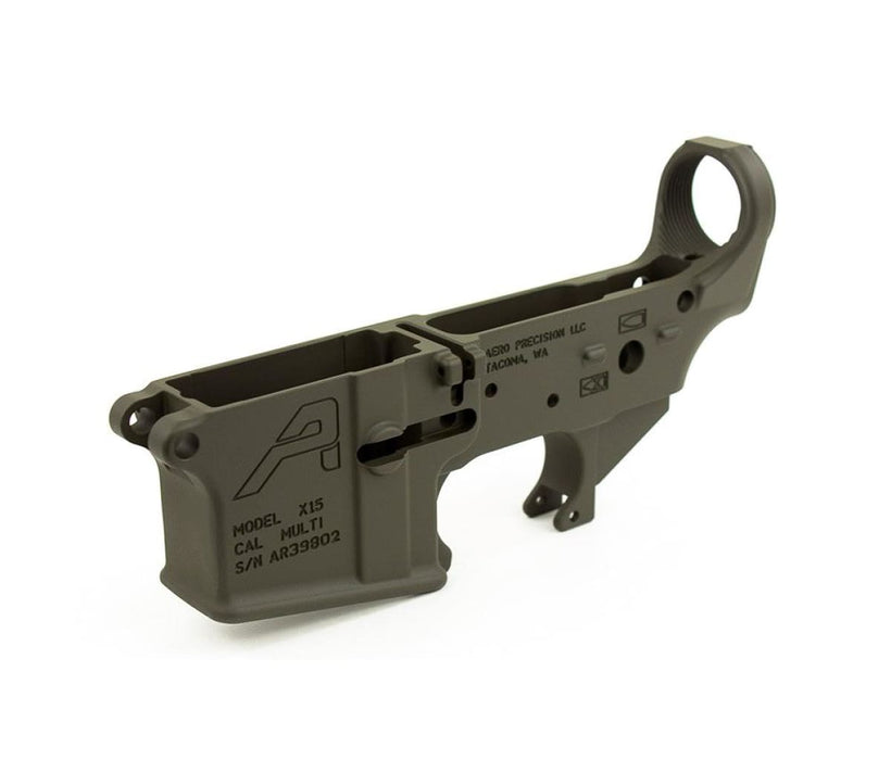 Aero Precision Ar15 Stripped Lower Receiver Gen 2 - Od Cerakote Lower Receiver Ar15Discounts