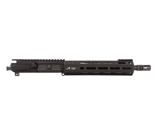 Aero Precision M4E1-E Complete Upper 10.5 5.56 Barrel Quantum 9 M-Lok Hg - Anodized Black Upper Assembly Ar15Discounts