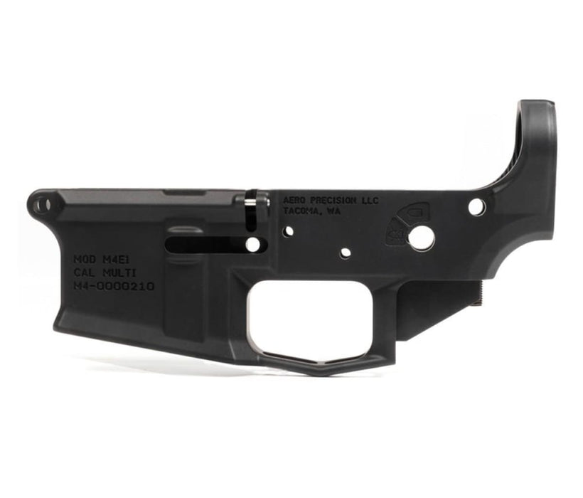 Aero Precision M4E1 Stripped Lower Receiver - Anodized Black Lower Receiver Ar15Discounts