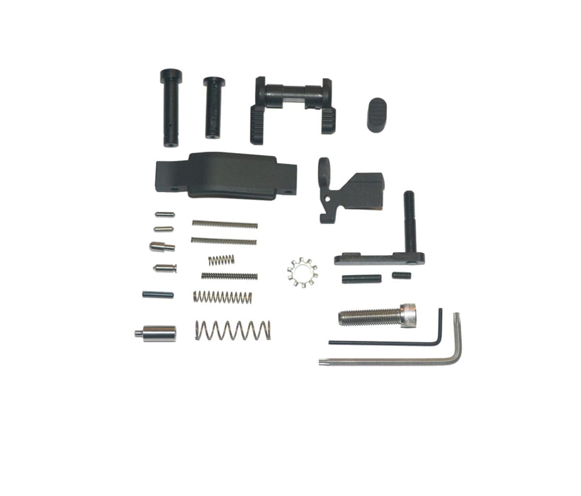 Armaspec Lower Parts Kit Stainless Lpk .223/5.56 Black Lower Parts Kit Ar15Discounts