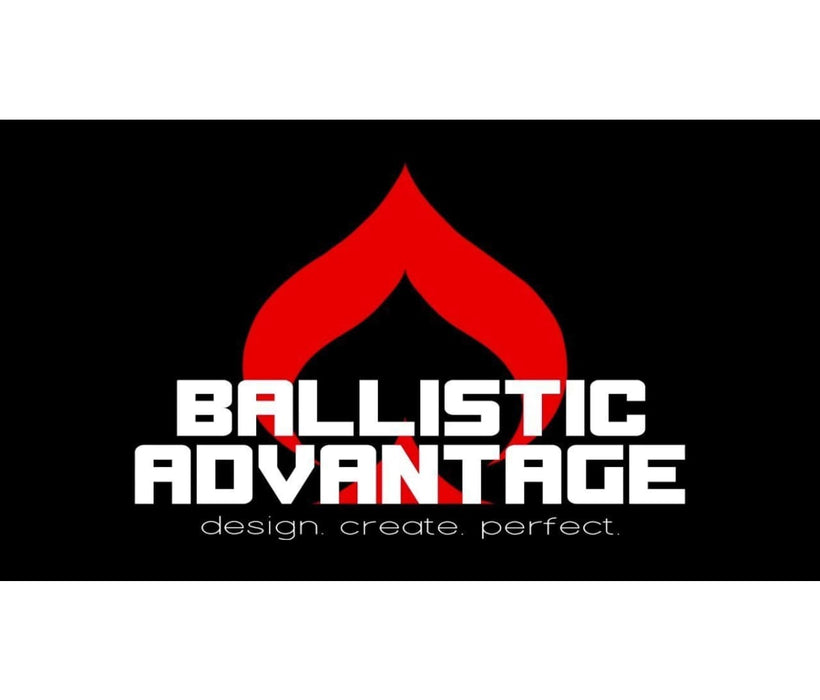 Ballistic Advantage 14.5 5.56 Government Profile Midlength Ar-15 Barrel Modern Series W/ Fsb Triangle Handguard Cap And Delta Ring Assembly