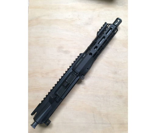 Blem - Aero Precision M4E1 Threaded Complete Upper 7.5 5.56 Barrel 7 M-Lok Atlas S-One Handguard - Anodized Black Ar15Discounts