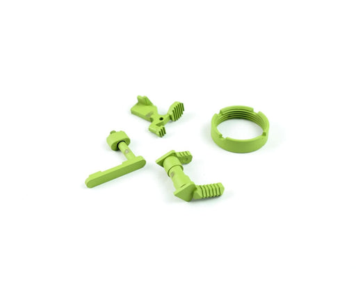 Ar-15 Lower Accent Parts Kit - Zombie Green Lower Parts Kit Ar15Discounts
