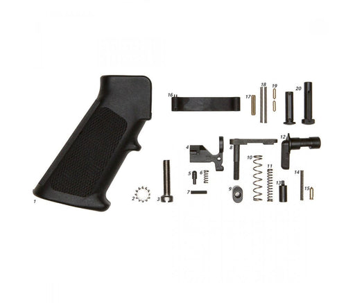 Geissele Mil-Spec Lower Parts Kit (Less Trigger With Grip) Lower Parts Kit Ar15Discounts