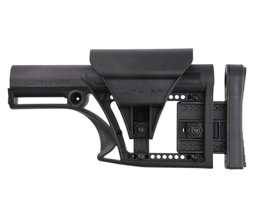 Luth-Ar Mba-1 Fixed Stock For Ar-15 & Ar-10 Rifle Length A2/a1 Buffer Tube - Black Stock Ar15Discounts