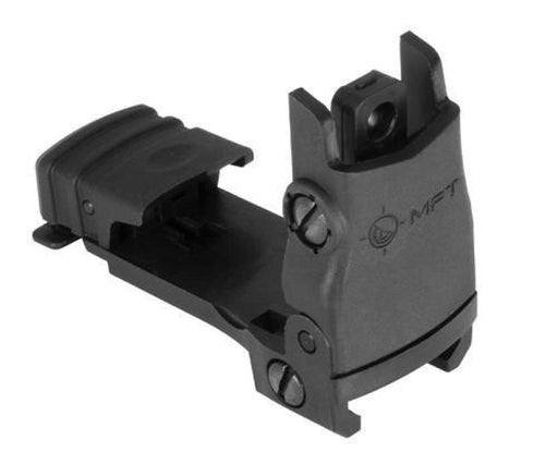 Mft Flip Up Rear Sight - Black Sights Ar15Discounts